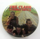The Clash - 'Combat Rock' 32mm Badge